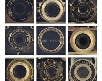 Old Friends Vintage Camera Art Photograph - Free Shipping in the US -