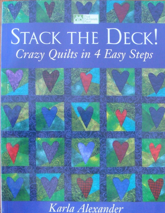 Stack The Deck Quilting Book