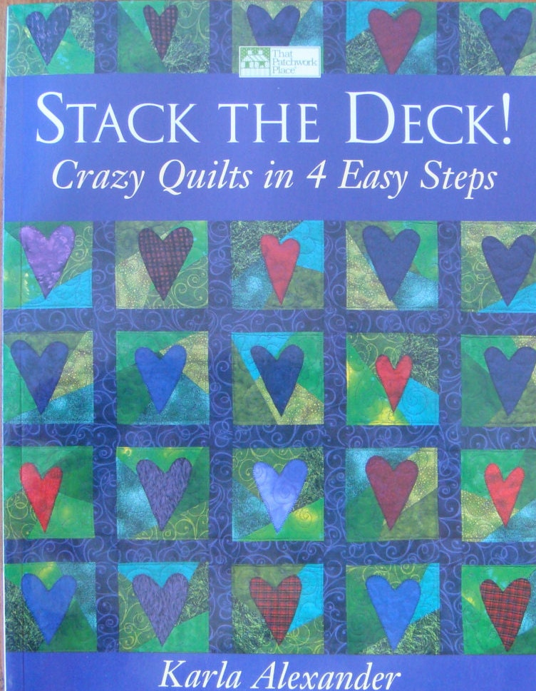 Stack The Deck Quilting Book From Timelessquilts On Etsy