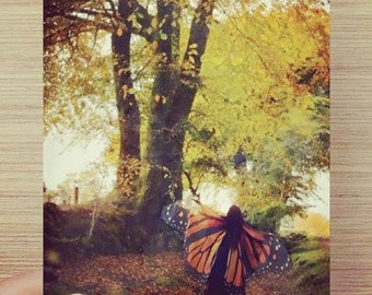 Autumn Fairy print -  fine art photography home decor
