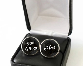 First Fathers Day Gift from Son, Fathers Day Gift from Wife, Fathers Day Gift from Baby Girl, Fathers Day Gift from Daughter, Photo Cufflink
