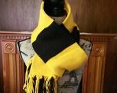 Harry Potter inspired underclass Hufflepuff scarf