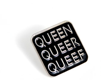 Q-Words Pin