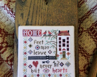 HOME Complete Counted Cross Stitch Kit