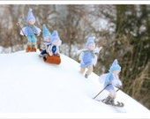 Winterland Greeting Card - Waldorf Inspired