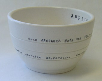 Jupiter Porcelain Bowl