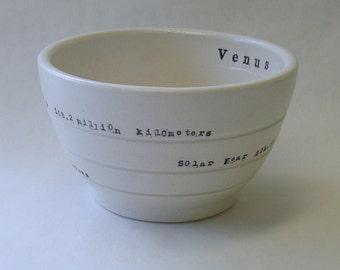 Venus Porcelain Bowl