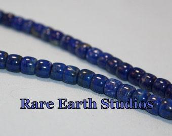 Lapis Lazuli Beads 6x7mm+/- Barrel 60216031