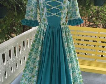 Monica Evans  Custom Order Women's  - Colonial, Pioneer, Prairie Dress, Apron & Mob Cap