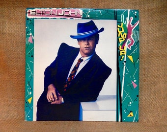 Elton John - Jump Up! - 1982 Vintage Vinyl Record Album