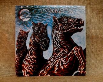 CRAZY CUPID SALE Crazy Horse - Crazy Moon - 1978 Vintage Vinyl Record Album