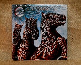 CRAZY HORSE - Crazy Moon - 1978 Vintage Vinyl Record Album