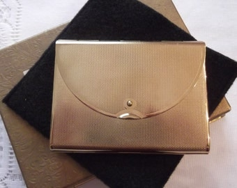 "Coty Powder Compact; ""Novelty""; Shaped Like An Envelope circa 1950's   DR100"