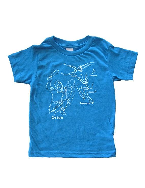 Items similar to Constellation Tshirt - Kids Star Shirt ...