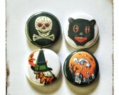 """Halloween Creepies 1"""" Button Choose Your Own"""