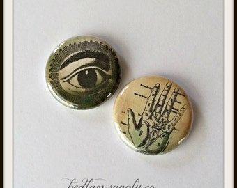 "Fate and Curses - 1"" Button Choose Your Own"