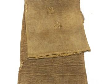 Sakabukuro. Japanese Antique Industrial Sack. Collectible Hand Made Waterproof Sake Bag. (Ref: 1315)