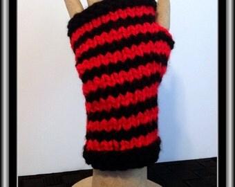 Fingerless Gloves - Stripes!