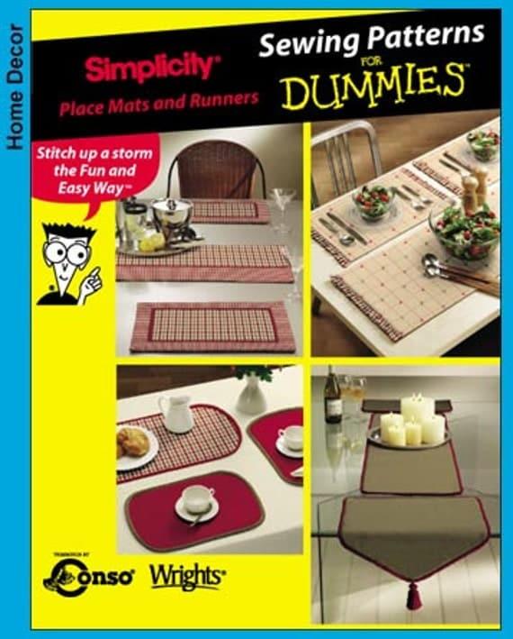 Simplicity Pattern 5964 Home Decor