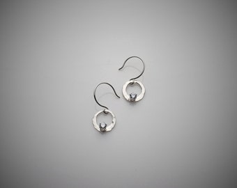 Cresents I Sterling Silver Earrings