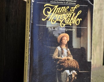 Anne of Green Gables by L. M. Montgomery Seal Books 1983, Megan Follows, classic literature