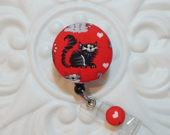 Retractable Badge Holder - Id Badge Holder - Badge Reel Retractable Lanyard - Name Badge Holder - Nurse Id Holder - Teacher Lanyard