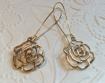 A Rose is a Rose Earrings