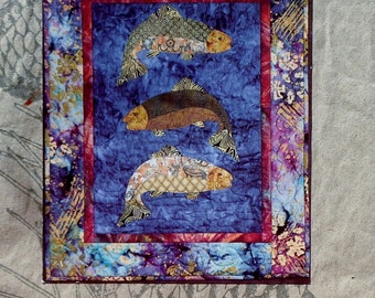 McKenna Ryan Pine Needles FISH TALES Quilt Quilting Quilter Pattern Template