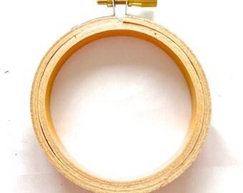 "3"" Wooden Embroidery Hoop"