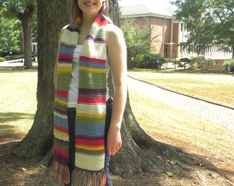 Doctor Who Scarf 4th Doctor Season 12 Scarf