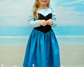 Ariel Kiss the Girl Dress - Sizes 2T, 3T, 4T, 5, 6, 7, 8, and 10