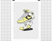 Dunk Low - Giclée Print by Tim Easley
