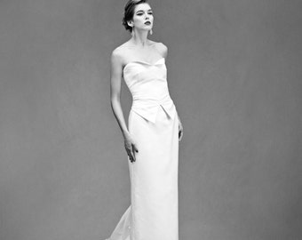 Tux Bodice – Custom Bridal Separates – Custom Wedding Dress – Bridal Couture by Jill Andrews Gowns