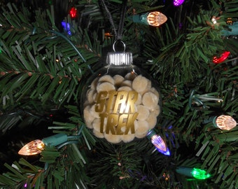 """Star Trek - """"The Trouble with Tribbles"""" - Christmas Ornament"""