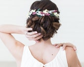 Flower Hair Comb, Floral Halo, Bridal Hair Wreath, Bridal Hair Crown, Lavender Crown, Flower Tiara, Headband, Lavender Flower Headpiece