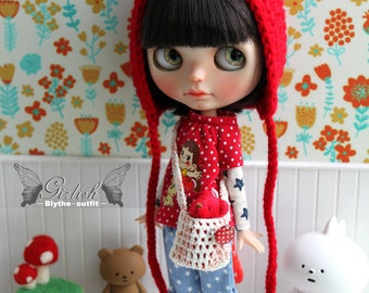 Girlish - Peko Set for Blythe doll - dress / outfit