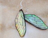 Fairy Wing Resin Earrings