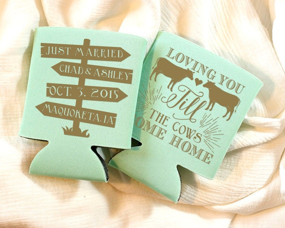 Loving You Till The Cows Come Home Wedding Favors, Bridal Shower Gifts, Till the Cows Come Home Wedding Gift, Anniversary Party Favors, 1172
