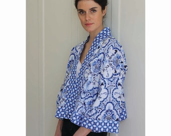 Kimono Jacket Tutorial and Pattern - PDF