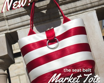 Seat Belt Series: Market Tote Sewing Pattern