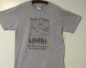 Trail of Tears Native American/Indigenous Peoples Unisex T-shirt - Ash Grey