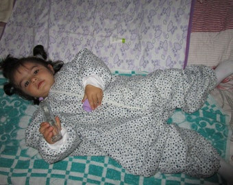 Toddler Sleeping bag/The Kinder Kids' Cotton Seeping Bag/Childrens Sleep Sack in Heart/Organic Sleep Bag for Camping and Sleepovers