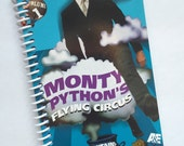 MONTY PYTHON Flying Circus book journal notebook Recycled Upcycled Spiral Bound Vhs tape box