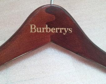 Burberrys  Wooden Suit Hanger
