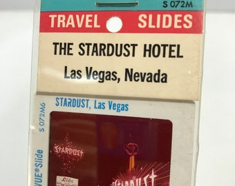 Vintage STARDUST HOTEL Las Vegas Strip Showgirls Original Souvenir Photographs Pana-Vue Slides Unopened Negatives 1960s Elvis Brat Pack
