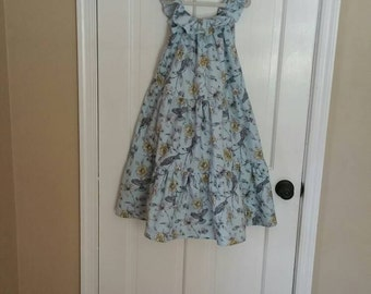 Boutique Dress. One-of-a-Kind DRESS (girls size 4T). Maxi Dress.