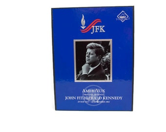 Vintage John F Kennedy Phone Card Series by AmeriVox JFK Promo Album 0794/3717 New Calling Cards
