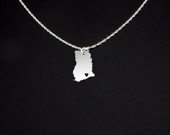 Ghana Necklace - Ghana Jewelry - Ghana Gift
