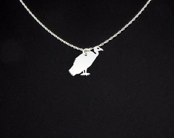 Vulture Necklace - Vulture Jewelry - Vulture Gift