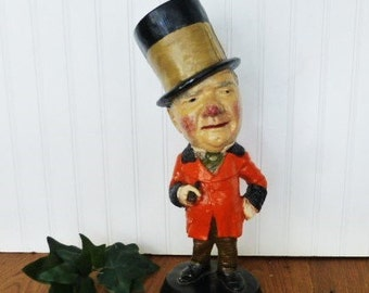 W.C. Fields Chalkware Statue,  Collectable Statue